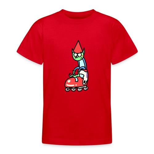 El gnomo en el patín - Camiseta adolescente