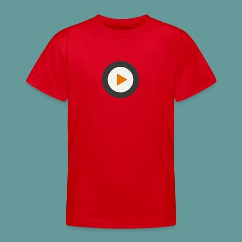 Projekt-Ohr bedruckte Vorder- und Rückseite - Teenager T-Shirt