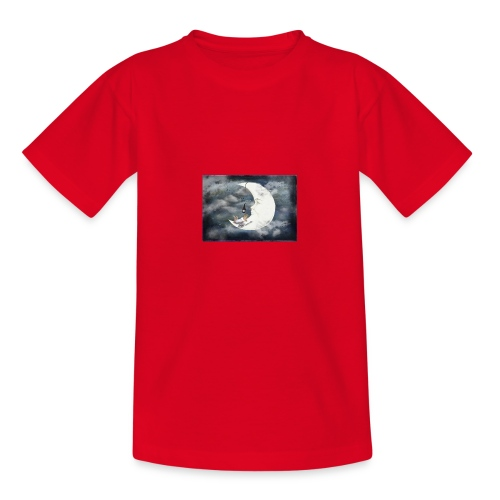Der Mond - Teenager T-Shirt