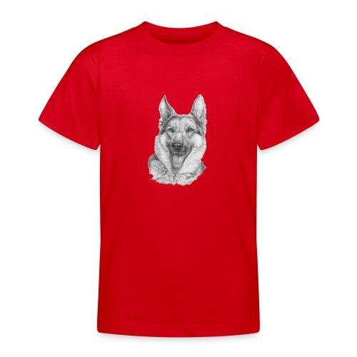 Schæfer German shepherd - Teenager-T-shirt