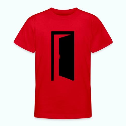 komm rein ... bin offen - Teenager T-Shirt