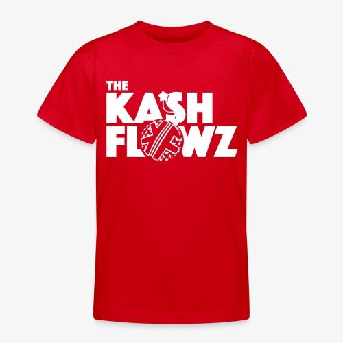 The Kash Flowz Official Bomb White - T-shirt Ado