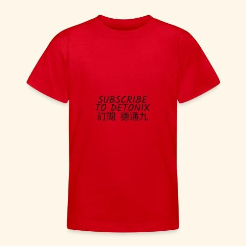DETONIX CHINESE THENE - Teenage T-Shirt