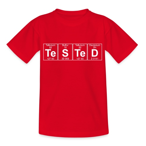 Te-S-Te-D (tested) (small) - Teenage T-Shirt