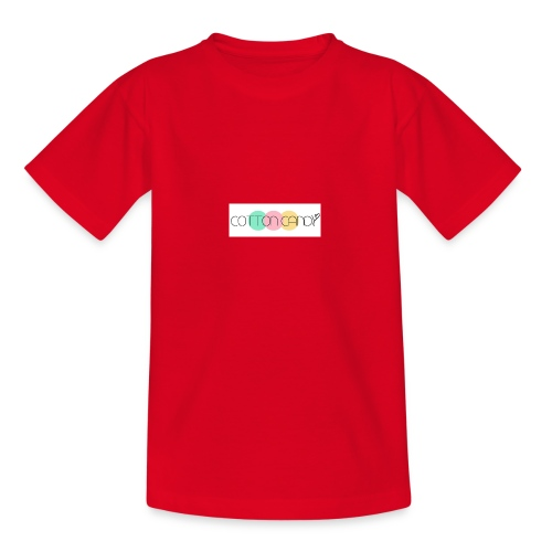 COTTON CANDY LOGO - Teenage T-Shirt