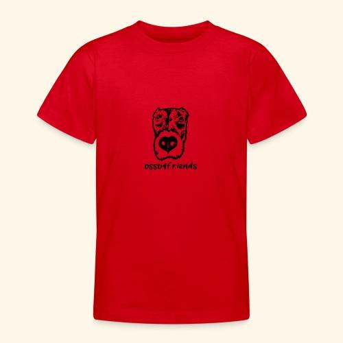 Logo NERO TRASPARENTE creative - Maglietta per ragazzi