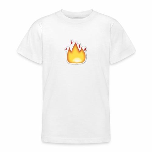 Liekkikuviollinen vaate - Nuorten t-paita