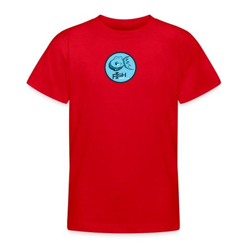 fish club badge - Teenage T-Shirt