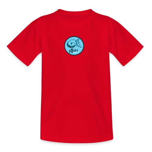fish club badge - Teenage T-Shirt