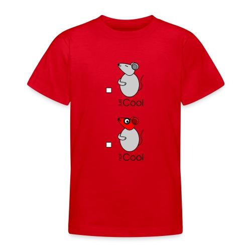 Conseil - « just / not Cool » - c - T-shirt Ado
