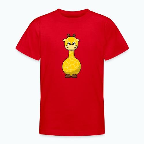Gigi Giraffe - Appelsin - T-shirt tonåring