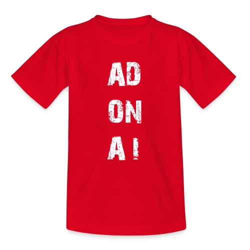 AD ON AI - Teenager T-Shirt