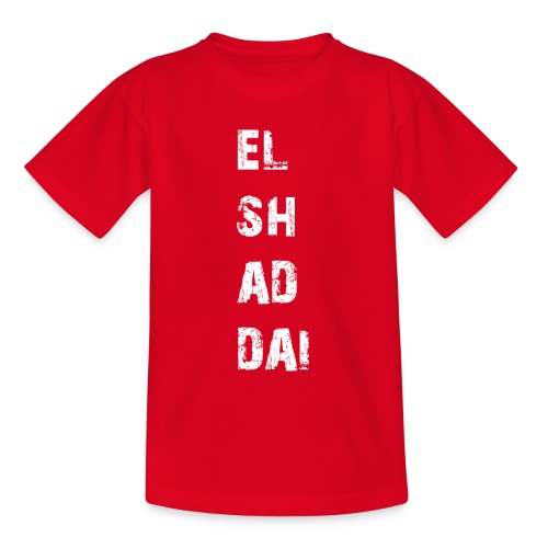 EL SH AD DAI 2 - Teenager T-Shirt