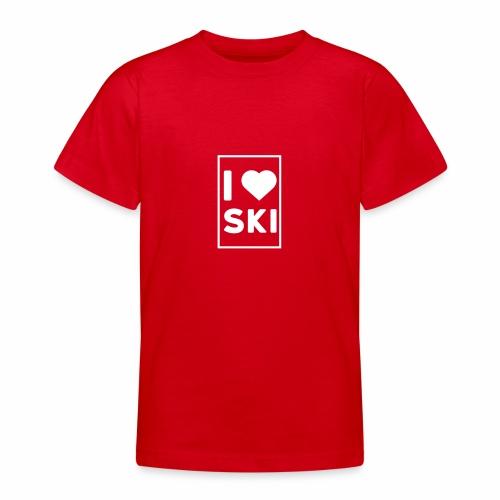 I love ski - T-shirt Ado