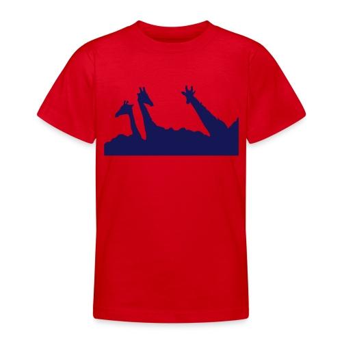Buschgiraffen - Teenager T-Shirt