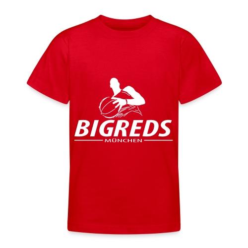 Bigreds Schrift mit Spie - Teenager T-Shirt