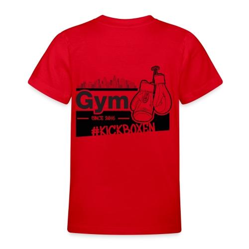 Gym in Druckfarbe schwarz - Teenager T-Shirt