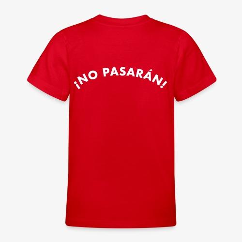 ¡No pasarán! - T-shirt tonåring