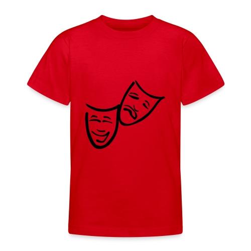 Theatermasken - Teenager T-Shirt