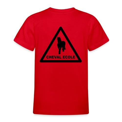 chevalecoletshirt - T-shirt Ado