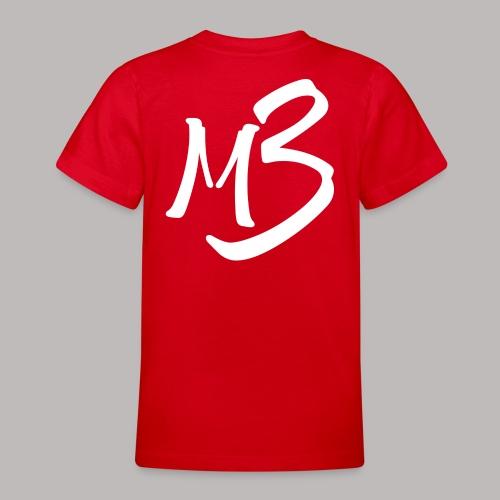 MB 13 white - Teenage T-Shirt