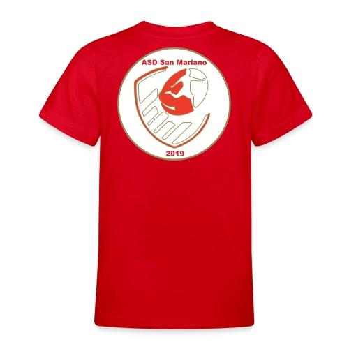 Logo ASD San Mariano 2019 - Maglietta per ragazzi