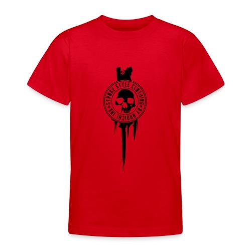 patch stroke pfade - Teenager T-Shirt