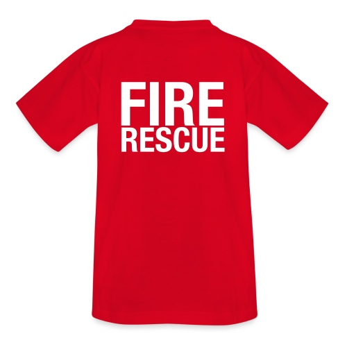 Fire and Rescue - Teenage T-Shirt