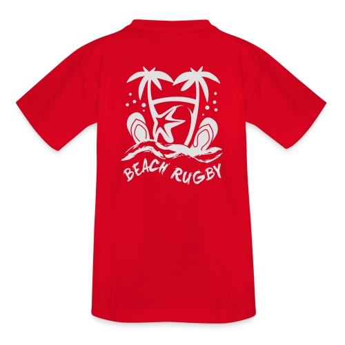 BEACH RUGBY - T-shirt Ado