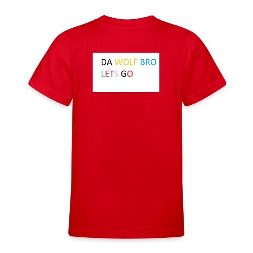 DA WOLFS - Teenage T-Shirt