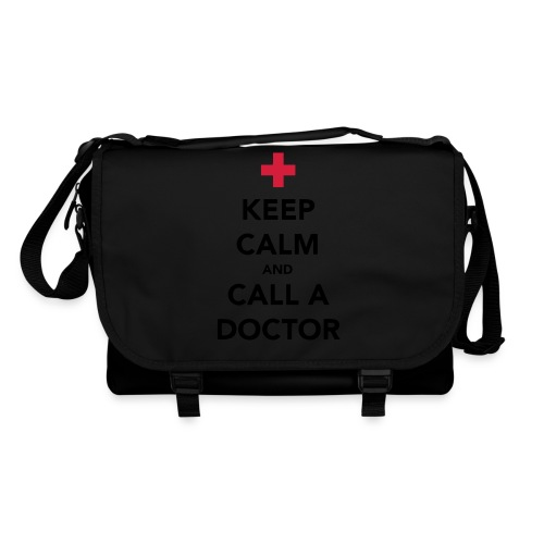 Keep Calm and Call a Doctor - Shoulder Bag