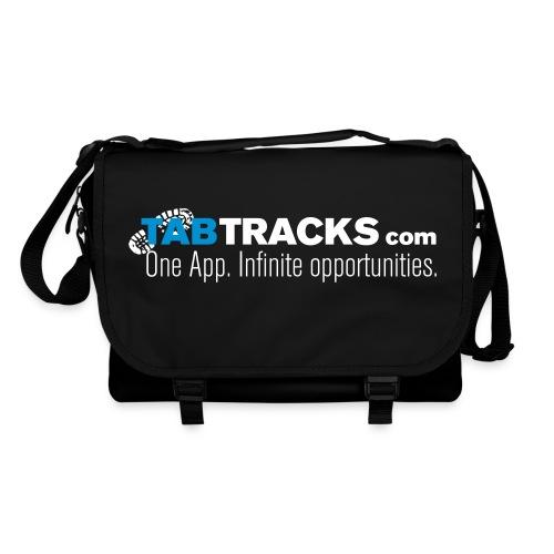 tabtracks logo final 1 testspreadshirt - Shoulder Bag