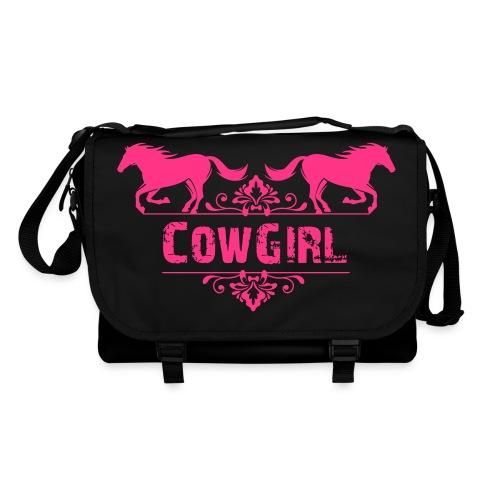 Cowgirl, chevaux - Sac à bandoulière