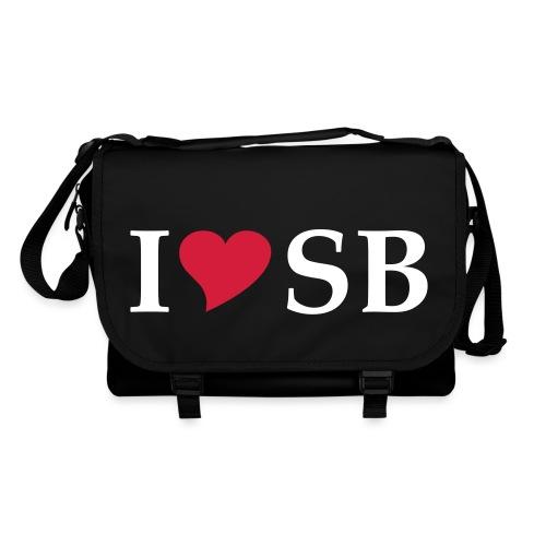 I Love SB Siebenbürgen Sibiu - Umhängetasche