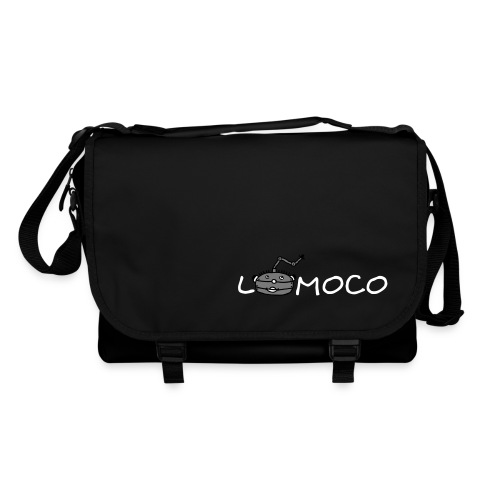 logolomoco3cweiss - Umhängetasche