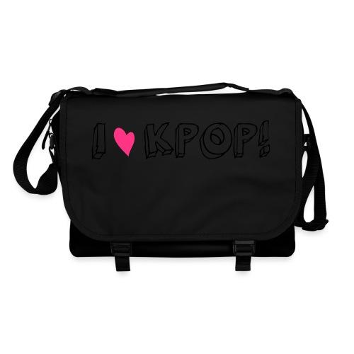 I love kpop! - Umhängetasche