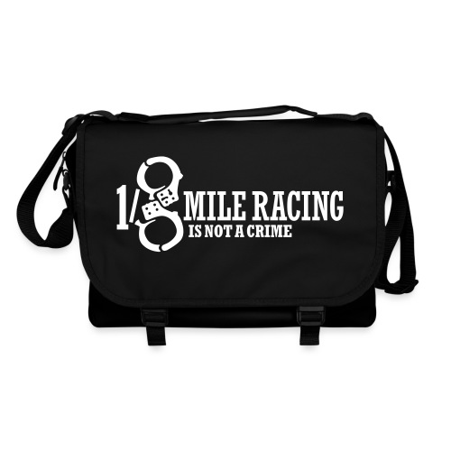 Eighthmile Mile Racing is not a crime - Umhängetasche