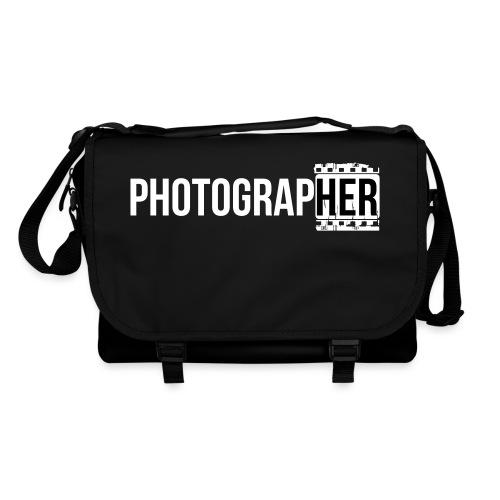 Photographing-her - Shoulder Bag