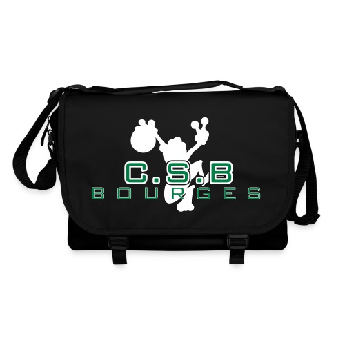 logo csb air csb pour fond noir mai2014 - Sac à bandoulière