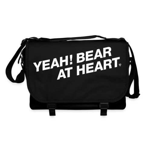 Yeah Bear at Heart #2 - Umhängetasche