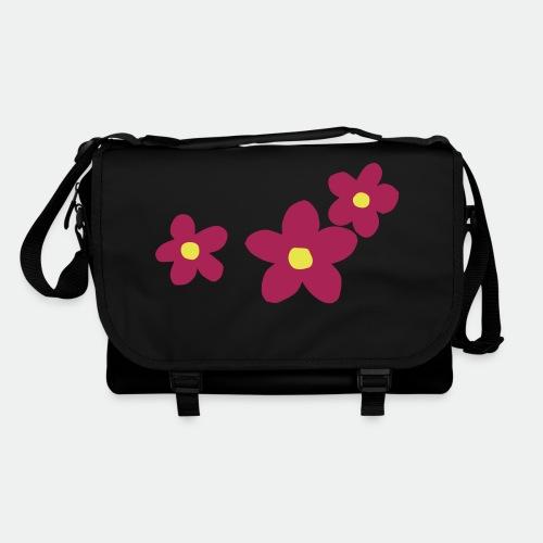 Three Flowers - Shoulder Bag
