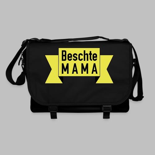 Beschte Mama - Auf Spruchband - Umhängetasche