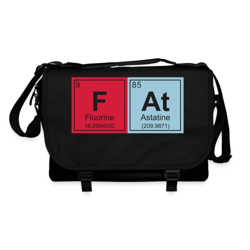 Geeky Fat Periodic Elements - Shoulder Bag
