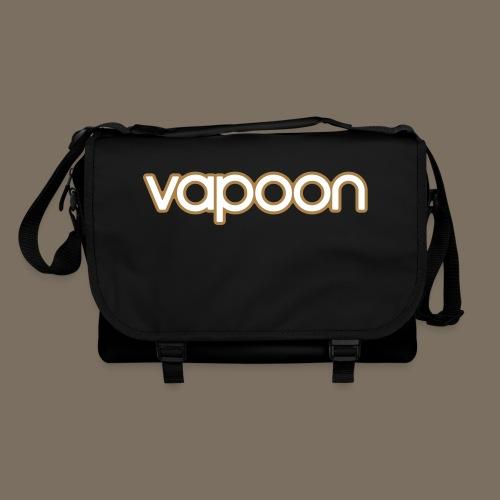 Vapoon Logo simpel 2 Farb - Umhängetasche