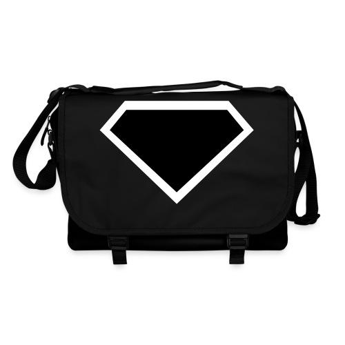 Diamond Black - Two colors customizable - Schoudertas