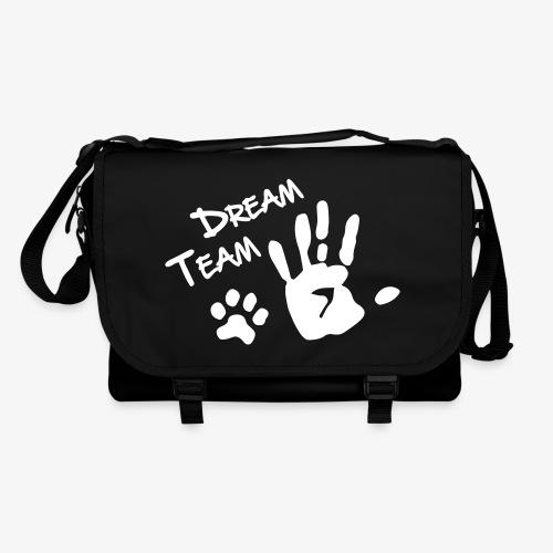 Dream Team Hand Hundpfote - Umhängetasche
