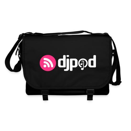 djpod logo floc - Sac à bandoulière
