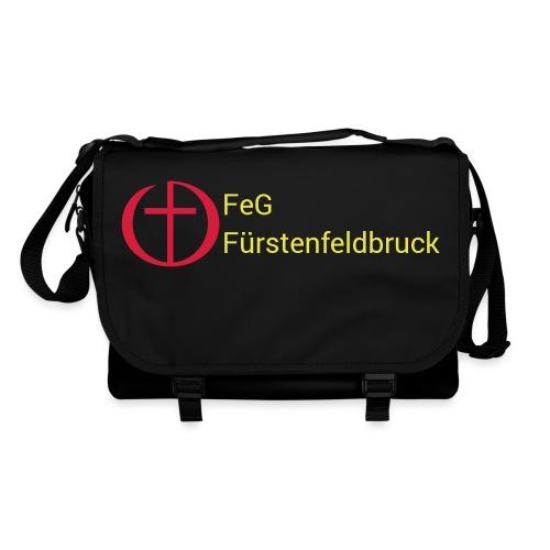 Logo FeG FFB mit Text - Umhängetasche