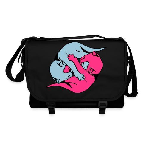 Yin and Yang Kitties - Shoulder Bag