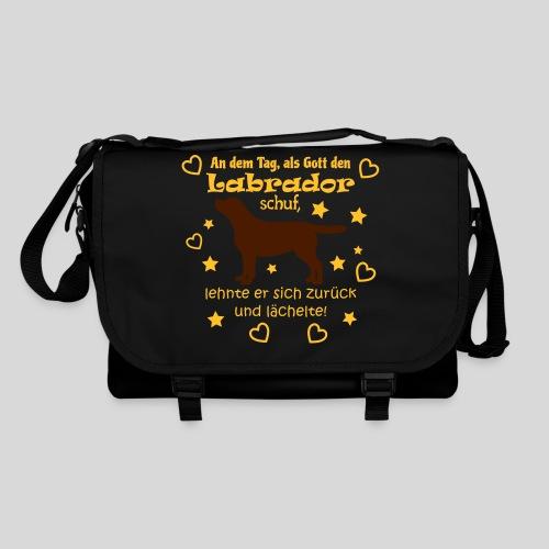 Gott schuf Labrador - Umhängetasche